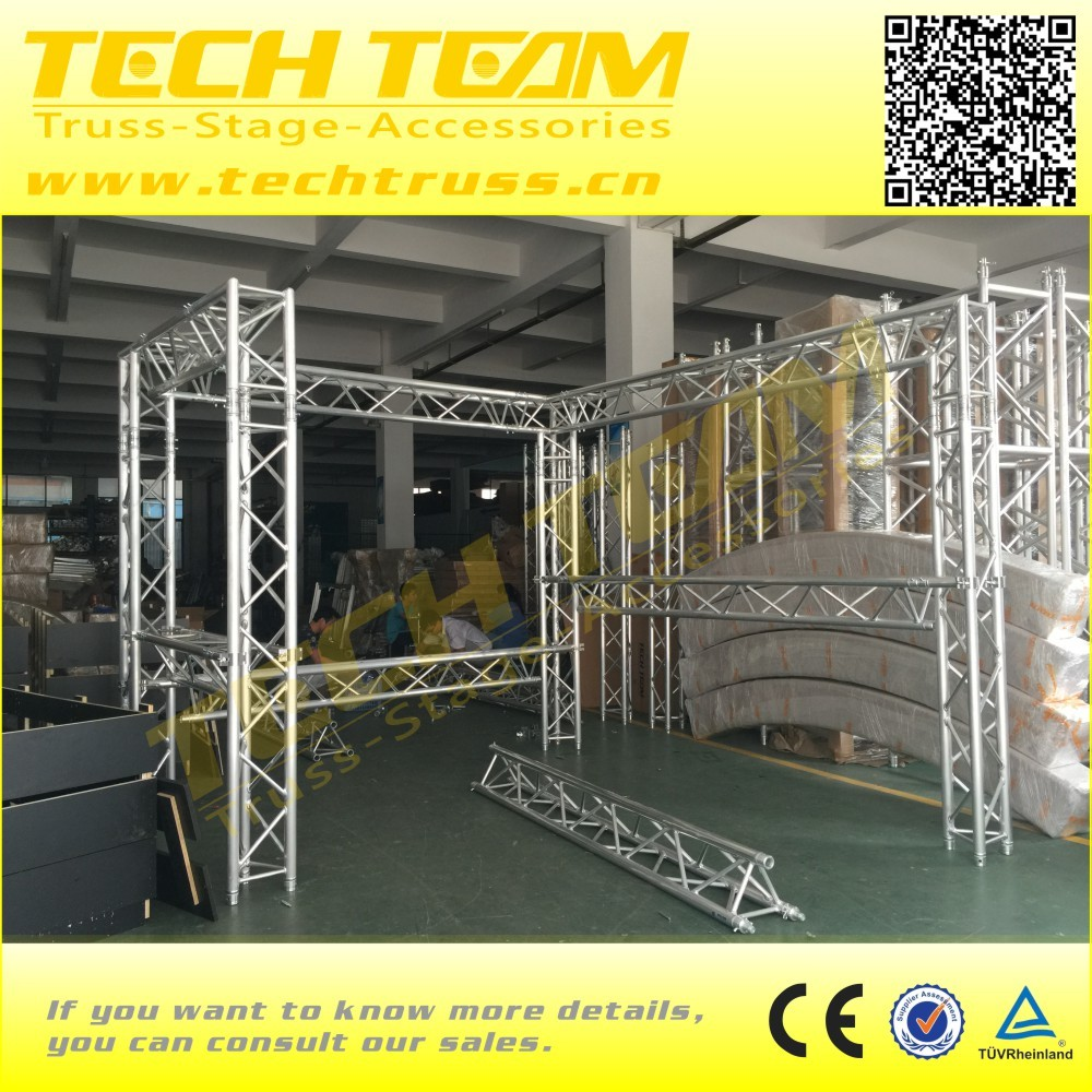 Top quality 290mm aluminum triangle truss /Event Aluminum Spigot/Bolt