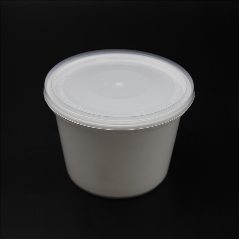 Clear Round Water Container