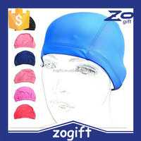 ZOGIFT swimming cap lycra,lycra swim cap,fabric swimming hats