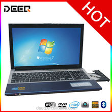 Fancy styled laptop 15.6 inch Metal Case J1900 Quad Core 2.0GHz Processor 4GB RAM 500GB HDD factory price