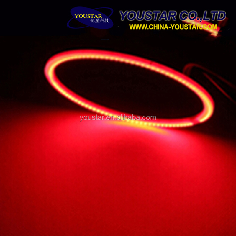 New 2016 COB Halo Rings Angel Eyes Led Auto Car Angel Eyes 60MM ~ 140MM