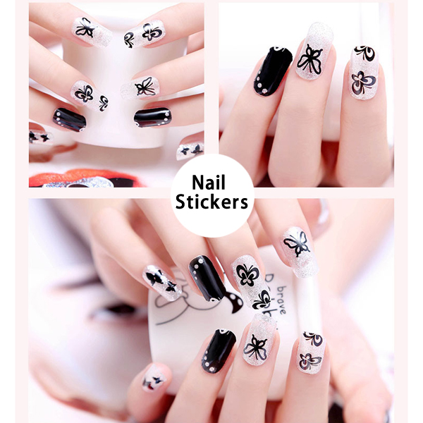 Factory Wholesale Multi Patterns Nail Polish Stickers for Nail Art