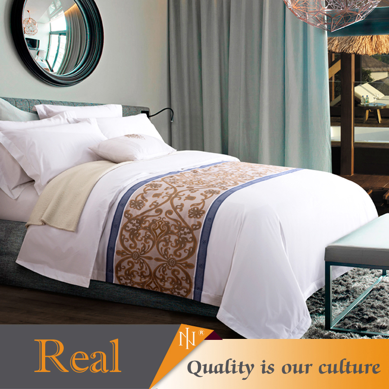 100% cotton quilt cover set for hotel of good quality