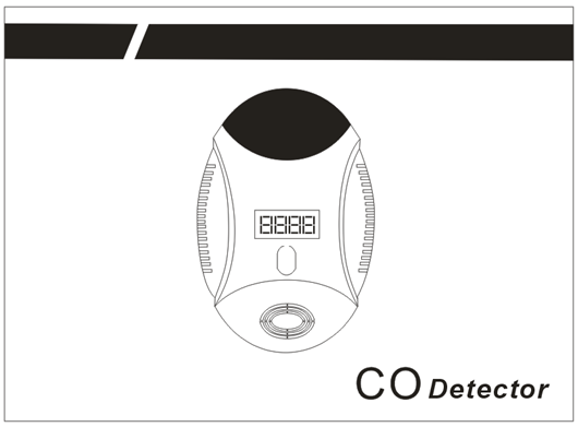 Stord new product intelligent sound and light control carbon monoxide detector/co detector/co alarm