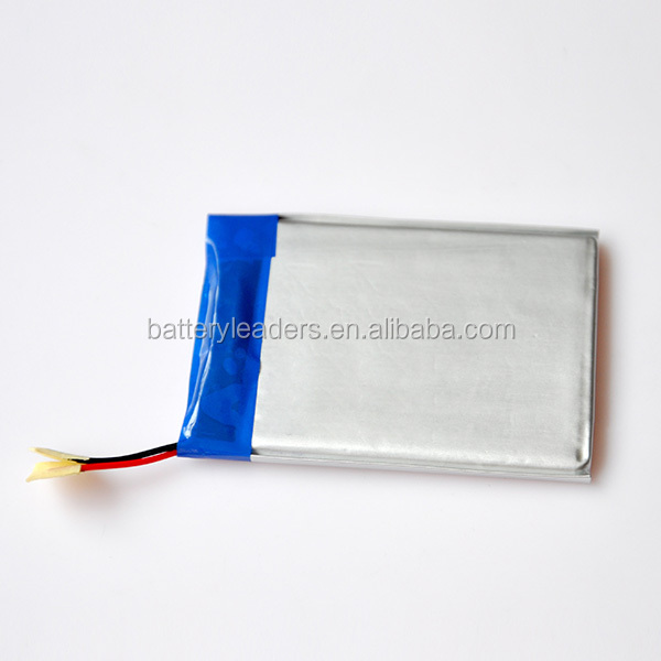 hot selling 3.7V lithium polymer battery for MP3/MP4