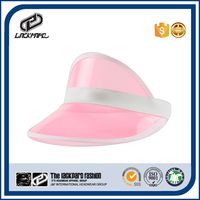 Colorful UV protection plastic sun visor hat