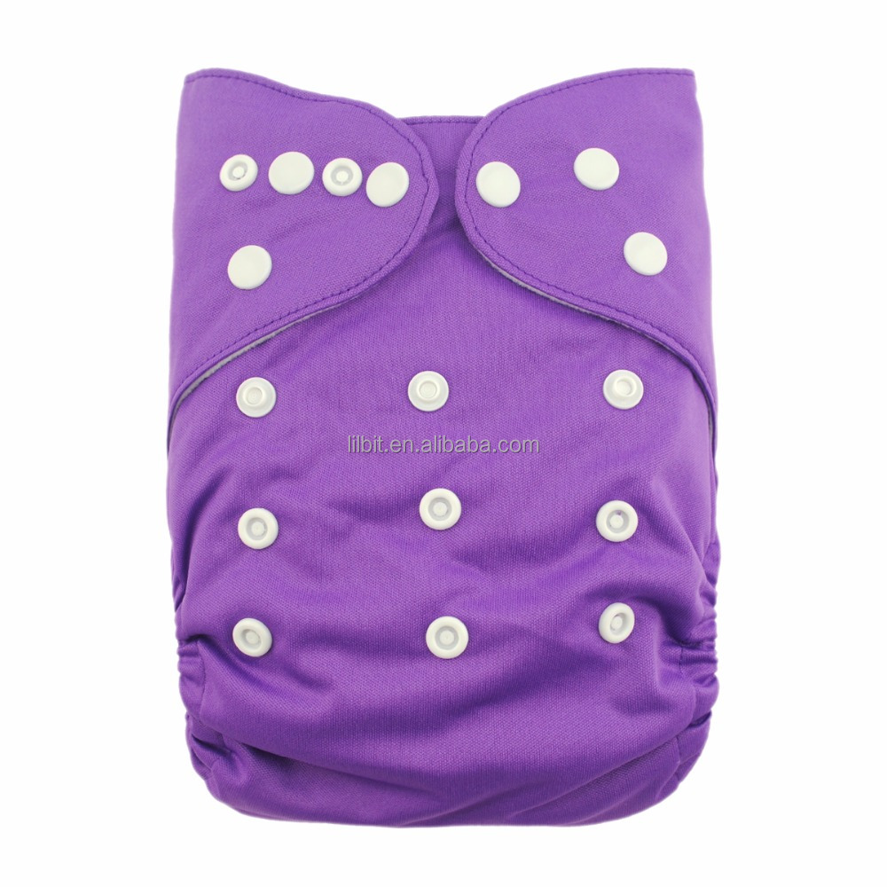 LilBit wholesale newborn baby bulk healthy comfortable sleepy cloth diaper