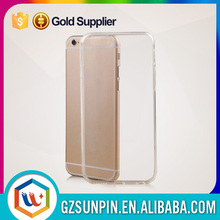 Brand new glazed transparent tpu case for iphone 6