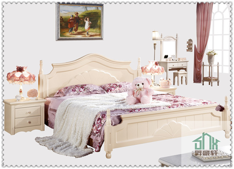 Superb New Arrival White Indian Wood Double Bed Designs 1.8m   Buy Wooden Bed  Models,Indian Wood Double Bed Designs,Pictures Of Bed In Wood Product On  Alibaba.com