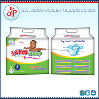 Cheap disposable baby sleepy diapers with factory machine price