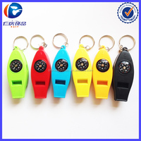 New Design colorful Whistling private custom blank Different shapes Metal keychains