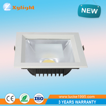 Factory professional ultra thin square led downlight 20W COB led square light