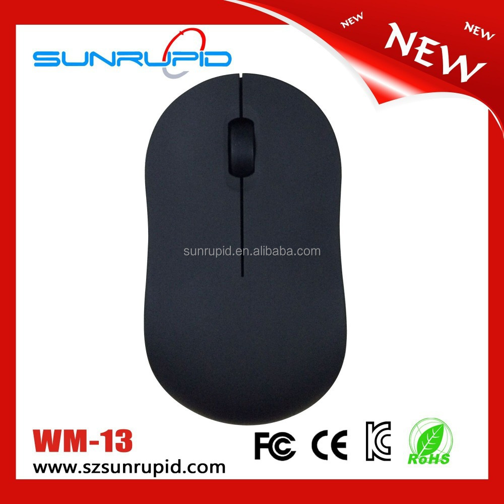 2.4G USB 2.0 Nano Receiver Wireless Optical Mouse for PC Laptop