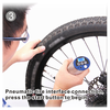 factory supply hot selling new style portable air values/mini hand held bike pump/digital tire inflator