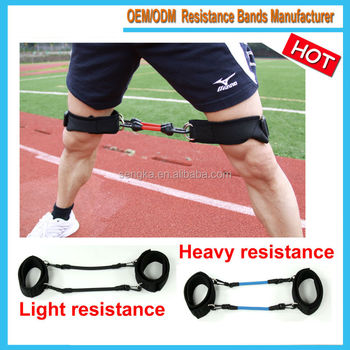 LTA-1267 leg taekwondo training equipment,resistance bands