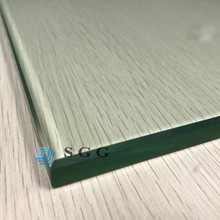 Fast delivery time large size 12mm thick toughened glass