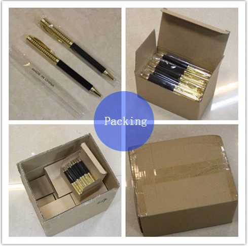 Wholsale price gift pen with box carbon fiber ball pen
