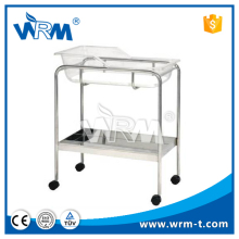 Luxury steel hospital pediatric baby hospital bed for sale