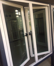 China standard aluminum glass window manufacturer aluminum mullion casement window