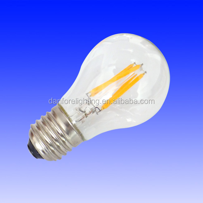3.5W filament E27 A19 LED bulb to replace 40w gls incandescent bulb
