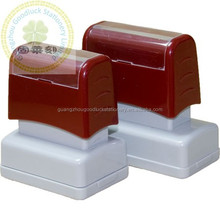 Hot Popular Flash Stamp With Double Foam/China Hot Sale Pre Ink Flash Stamp