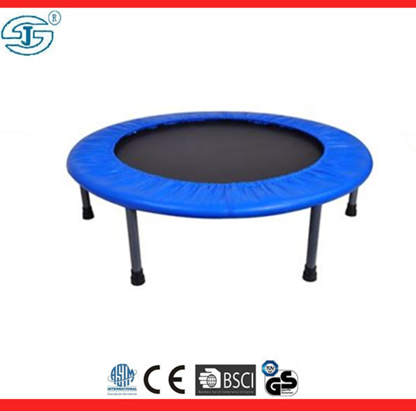 Round Fitness Mini Trampoline Folding Rebounder Indoor Outdoor Exercise Kid