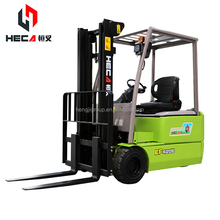 2 tons electric forklift Small warehouse electric forklift truck Sell at a low price