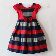 fashion kids clothes baby girl party dress 2017