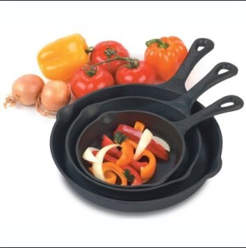 Wholesale Pre-seasoned Cast Iron Skillet Cookware Set