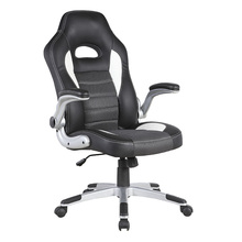 Trade Assurance Black and white swivel gaming chair game sports Chair