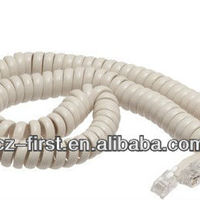 High Quality Telephone Cord With End