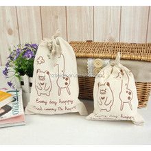 2016 Promotional China Manufacture Small drawstring jute bags,price jute gunny bags