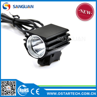 Sanguan SG-X1 Chinese manufacturer CE&RoHS certified mini size led bicycle light 1000lumens helmet mounted bike light
