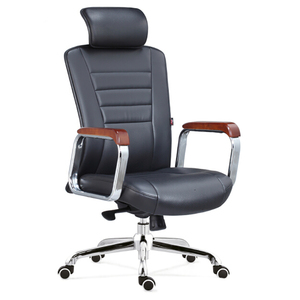 A091A Hangjian Swivel Executive swivel revolving manager leather office chair