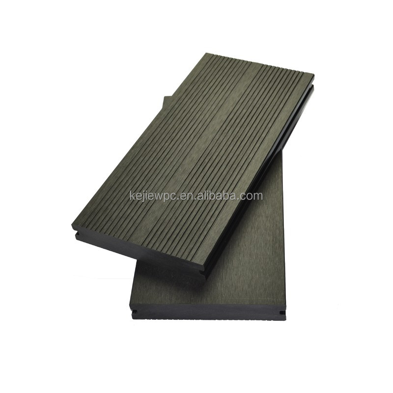 Outdoor Flooring wood plastic composite decking solid