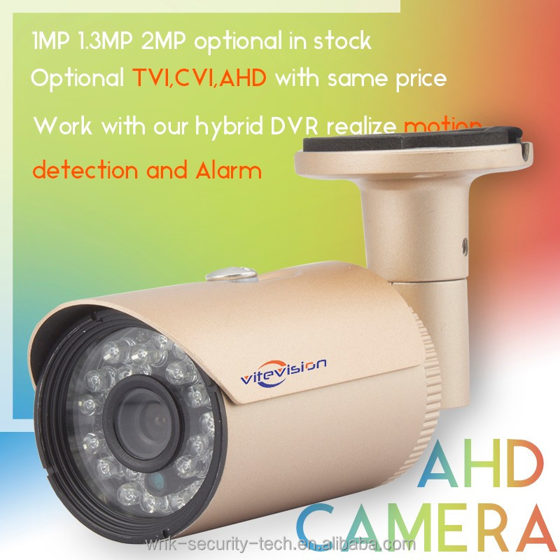 New model AHD analog bullet cctv camera with starlight used in video surveillance system