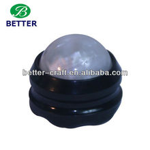 plastic roller massage ball handle massage ball