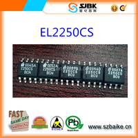 EL2250CS Integrated Circuits 125MHz Single Supply Dual/Quad Op Amps