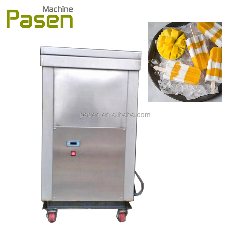Commercial popsicle maker / Sticker ice lolly machine / ice lolly making machine