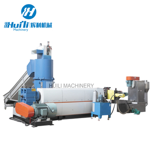 Pe Pp Hdpe Flakes Price Recycle Plastic Granulating Pelletizing Producing Line Has High Efficiency
