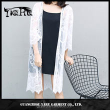 OEM/ODM guangzhou manufacturer lace casual classic long cardigan summer beach dress clothes women dress manufacturers
