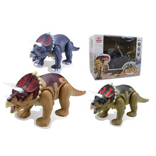 Best Selling BO Triceratops Walking Dinosaur Toy with Sound
