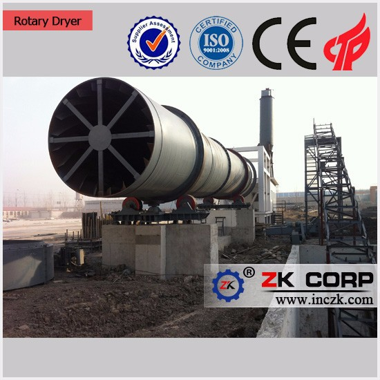 High Efficiency cassava chips rotary dryer machine