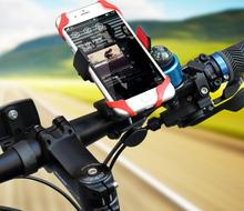 Mountain Bike 360 degree Silicone GPS Navigation Support Motorcycle Lazy Bicycle Holder