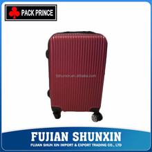 Unique design sweet design hard shell abs pc luggage suitcase