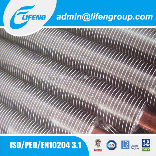 low price air to water fin type evaporator condenser air cooler copper finned tube