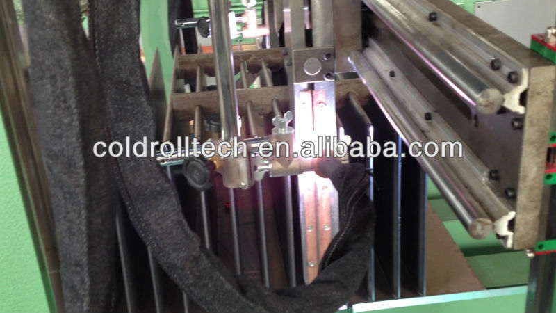 Automatic Corrugated Fin Welding Machine dissipating heat for transformer
