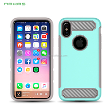 Metal coating transformers mobile smart phone case for Iphone X (NKS-00612)