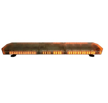 DC12V/24V emergency warning light bar of police/ambulance/fire vehicle, amber strobe lightbar for security vehicles
