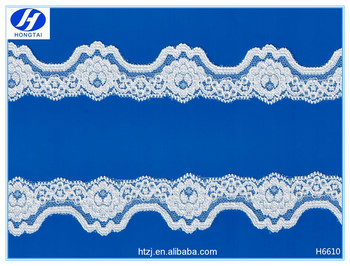 2016 New arrival thin lace trimming & guipure lace fabric cord lace for garment